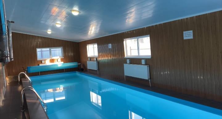Бассейн в апартаментах с русскими банями