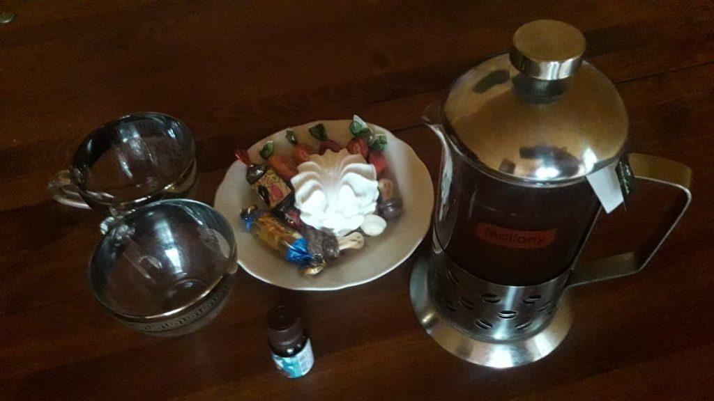 Чай в бане скидка