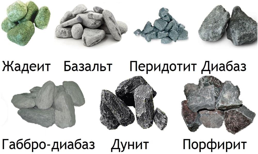 Камни в бане