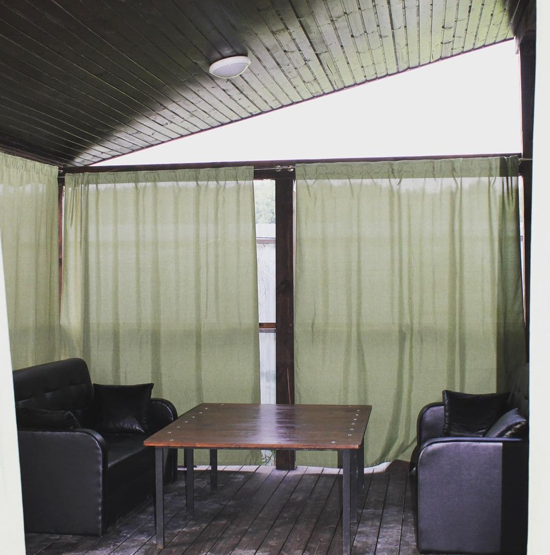 Сауна баня летние открытые веранды