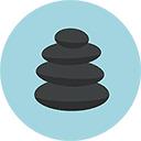 Равномерные камни для бани