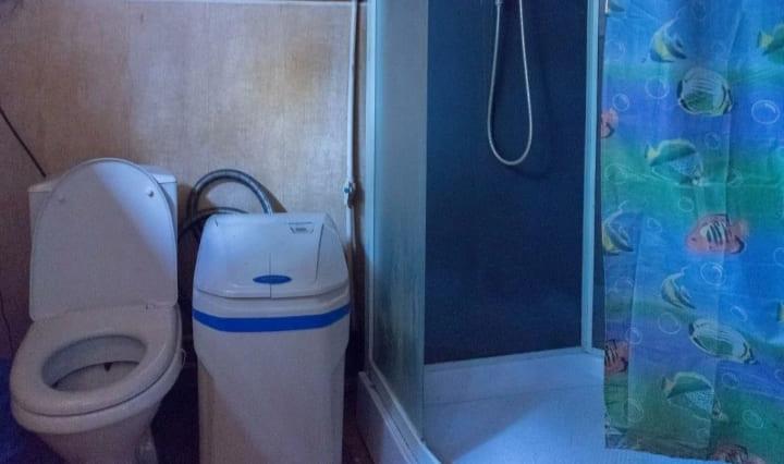 Ванная комната в даме в Любаново
